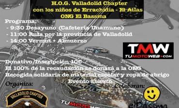 I Moto-Almuerzo Solidario HD Valladolid 2019