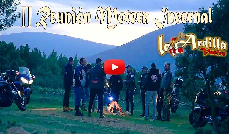 VIDEO PROMO - II Reunión Motera Invernal La Ardilla Vuelve 2020
