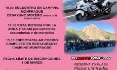 Cocido Motero Camping Monfragüe 2020