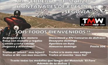 XXVI Reunión Invernal MotoClub El Foro 2020