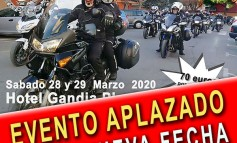 EVENTO APLAZADO | XXVIII Ruta Mototurística MotoClub Gripaos 2020