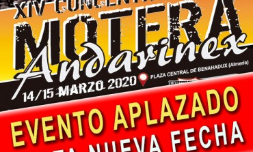 EVENTO APLAZADO | XIV Concentración Motera ANDARINEX 2020
