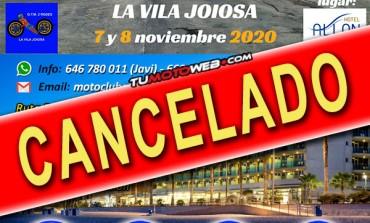 EVENTO CANCELADO   XXXIII Concentración Motera La Vila Joiosa 2020